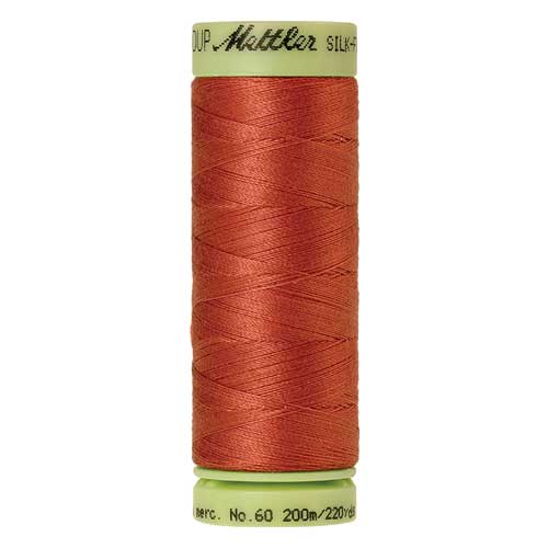 1288 - Reddish Ocher Silk Finish Cotton 60 Thread